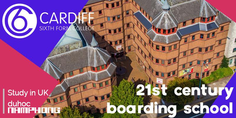 Trung học Nội trú Cardiff Sixth Form College tại Anh Quốc