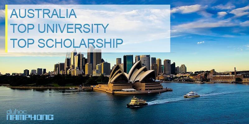 Du học Úc trường top với học bổng lên đến 36.000