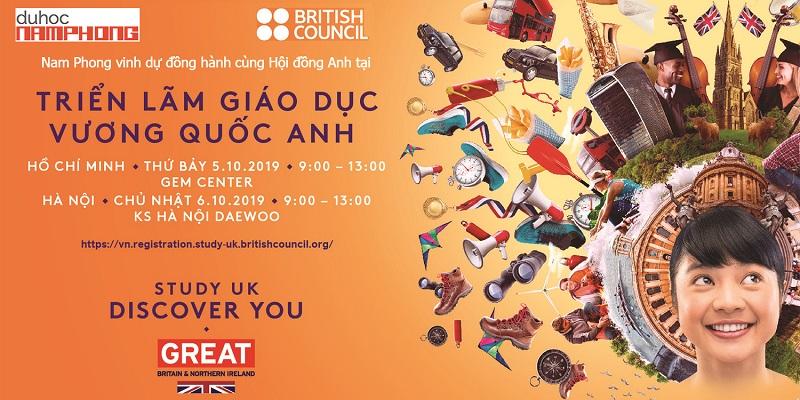 Triển lãm du học Anh cùng British Council 2019