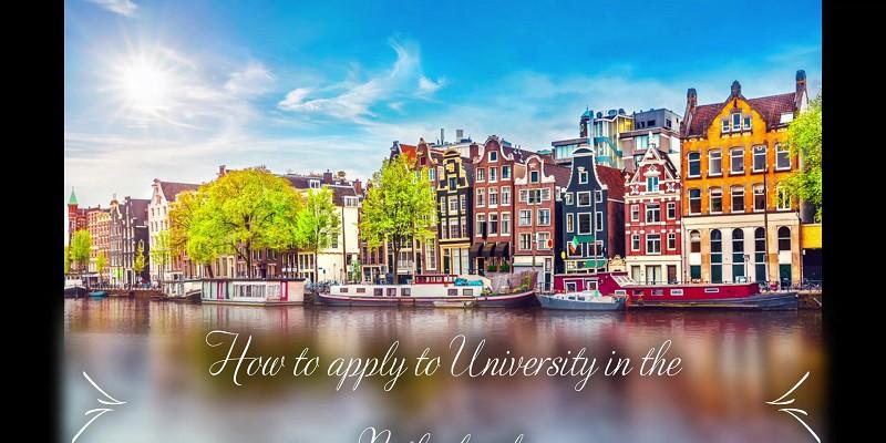 Hướng dẫn chi tiết các bước để apply vào trường Đại học Hà Lan