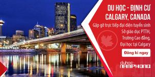 Du học Canada – Hãy học và định cư ở Calgary, Alberta!
