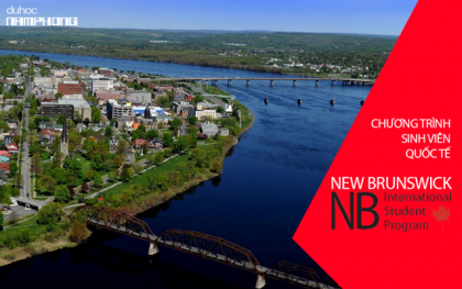 Du học PTTH Canada – New Brunswick tỉnh bang dễ định cư với...