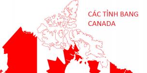 Các Thành phố – Tỉnh bang phổ biến tại Canada