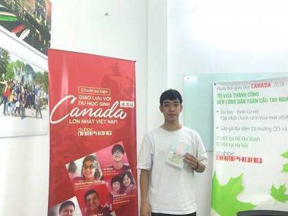 Đỗ Minh Quang - Cậu sinh viên Luật khẳng định bản thân tại trường George Brown College