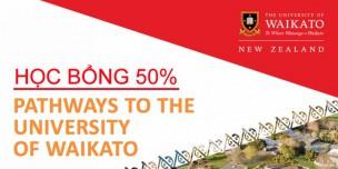 Du học New Zealand: Học bổng 50% Khoá dự bị Đại học Top 1 Waikato University