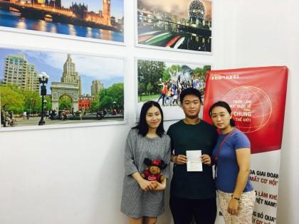 Lương Đức Quân – Học sinh Upper Madison College – Cậu bé ít nói với ước mơ du học Canada
