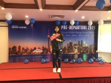Nguyễn Như Ngọc Minh - Cô tân sinh viên tài giỏi theo đuổi ngành Tourism and Hospitality Management của trường George Brown College