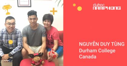 Nguyễn Duy Tùng – Chàng hot boy đã xuất sắc dành được học bổng của ngôi trường trong mơ Durham College