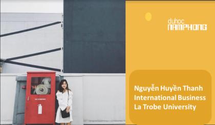 Nguyễn Huyền Thanh – cô nàng xinh xắn đạt được học bổng giá trị của ngôi trường đại học danh tiếng La Trobe University.