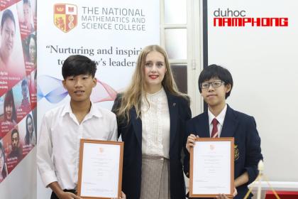 NGUYỄN MINH DIỆP Cô gái xuất sắc giành được suất học bổng...