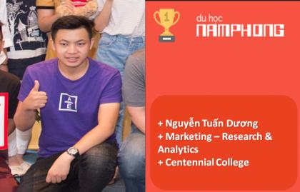 Nguyễn Tuấn Dương – lựa chọn du học Canada cánh cửa mới cho chàng trai tốt nghiệp Kinh tế Quốc dân