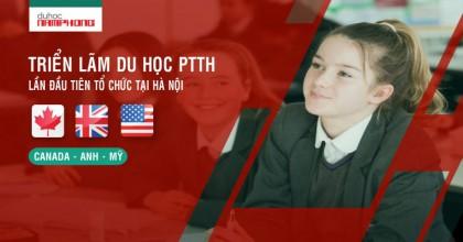 Triển lãm du học PTTH lần đầu tiên tại tổ chức tại Hà Nội