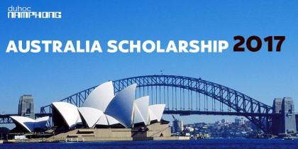 Danh sách Học bổng Du học Úc năm 2017