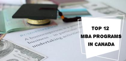 Top 12 khóa MBA tại Canada