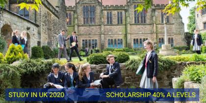 Du học Anh A-Level tại trường nội trú top đầu Anh quốc...
