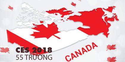 Danh sách 55 trường CES tại Canada theo tỉnh bang