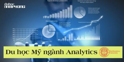 Du học Mỹ ngành Phân tích dữ liệu (Analytics) – Ngành học mới mẻ và cơ hội việc làm cao cùng trường Đại học Northeastern University