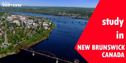 Du học tại New Brunswick, Canada