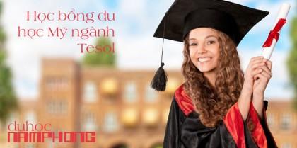 Học thạc sĩ TESOL tại Mỹ với học phí $10,000/năm + Học bổng 15%