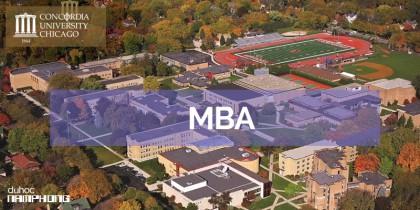 Ước mơ học tập tại Mỹ và chương trình học MBA tại đại học Concordia University Chicago