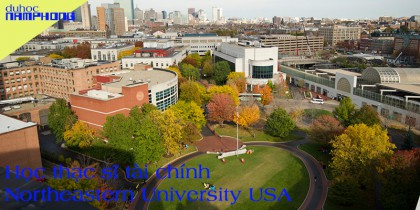 Học thạc sĩ tài chính tại Northeastern University