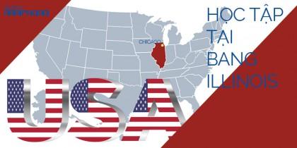 Tiểu bang Illinois - Thành phố Chicago - Và những lựa chọn học tập tại quê hương của vị tổng thống vĩ đại nhất Hoa Kỳ -