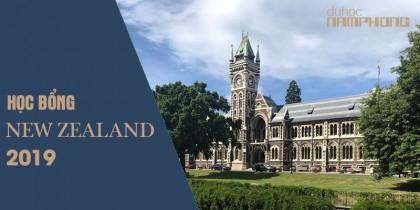 Học bổng du học New Zealand cho kỳ học tháng 01/2019