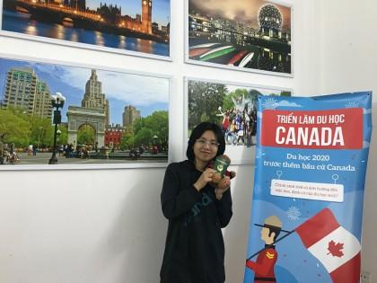 Trần Dương Thùy Linh - Cô bé quyết tâm theo đuổi ngành Business Administration tại trường Top 10 Đại học Canada