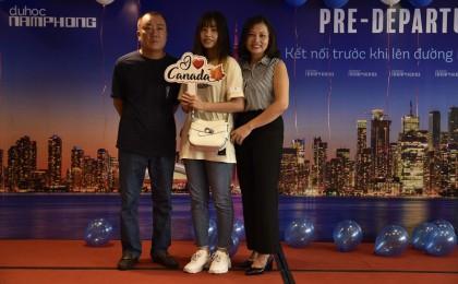 Du học Nam Phong - Phạm Thủy Anh - Cô gái xuất sắc giành được CAD$ 3,500 học bổng đầu vào của trường Humber College