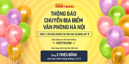 Nam Phong thông báo chuyển địa điểm văn phòng mới tại Hà Nội