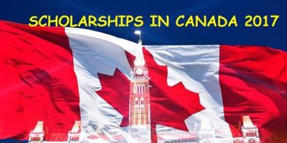Danh sách Học bổng du học Canada kỳ thu năm 2017