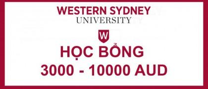Du học Úc: Học bổng lên đến 10,000 AUD tại Đại học Western Sydney University