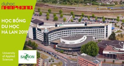 Du học Hà Lan 2019 – Học bổng lên đến 75% tại Đại học Saxion University, điều kiện có khó như bạn nghĩ?