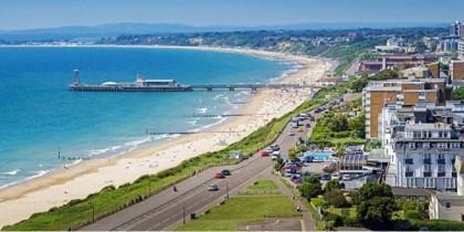 Bournemouth tự hào có bãi biển đẹp nhất nước Anh