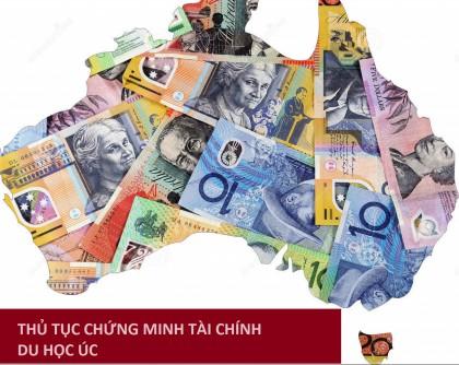 Hướng dẫn chứng minh tài chính du học Úc