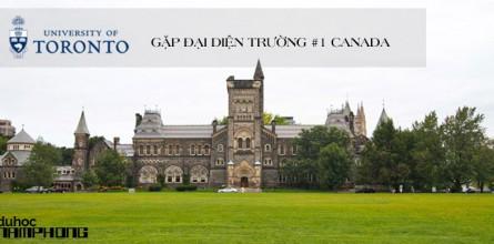 Sự kiện gặp gỡ đại diện trường University of Toronto – Đại học lớn nhất Canada