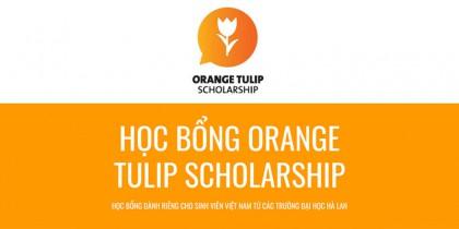 Học bổng OTS Hà Lan (Orange Tulip Scholarship) - dành riêng cho học sinh Việt Nam du học Hà Lan