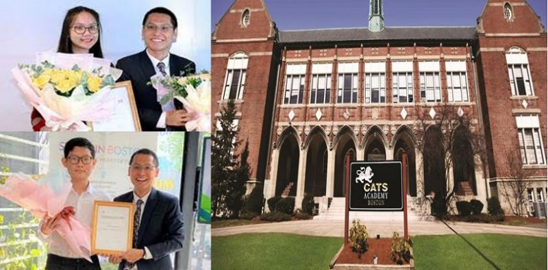 Tự hào Việt Nam: Học bổng 100% IVY Scholarship từ trường CATS Academy Boston thuộc về 2 sinh viên Việt...
