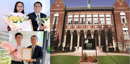 Tự hào Việt Nam: Học bổng 100% IVY Scholarship từ trường CATS Academy Boston thuộc về 2 sinh viên Việt Nam