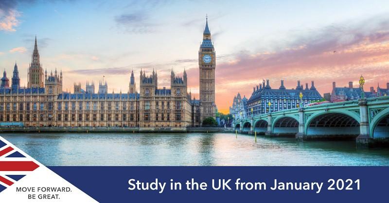 Thông tin và học bổng 40 trường Đại Học UK có kỳ nhập học tháng 1/2021!