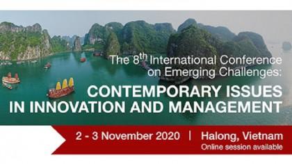 Trường Đại học Hertfordshire - Trường Đại học Bách khoa Hà Nội và các Trường đại học uy tín của Việt Nam vừa tổ chức thành công Hội thảo khoa học quốc tế lần thứ 8.