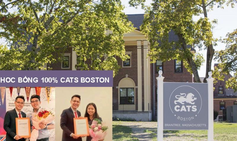 Học sinh Việt Nam đạt học bổng 100% CATS College