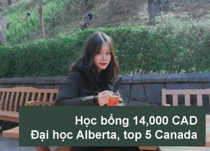 Nguyễn Ngọc Huyền Trang - Học bổng và admission đại hoc top 5 Canada