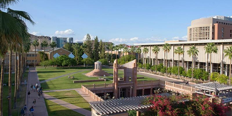 Trường Đại học Arizona State University   duhocnamphong.vn