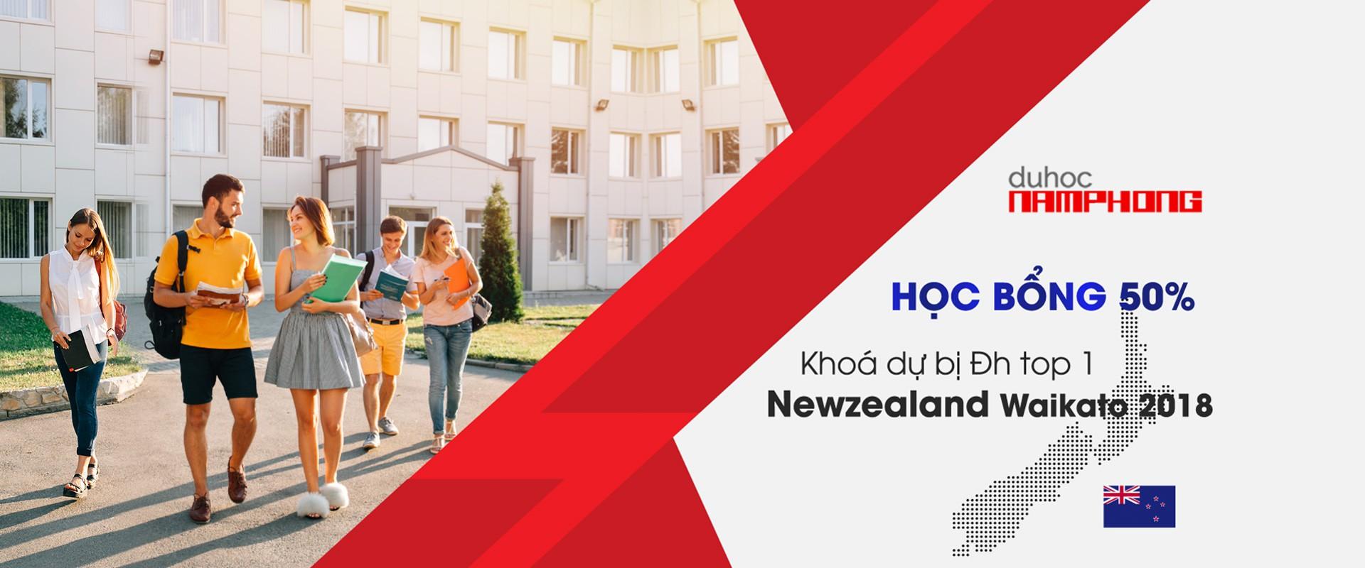 Học bổng Đại học Waikato University