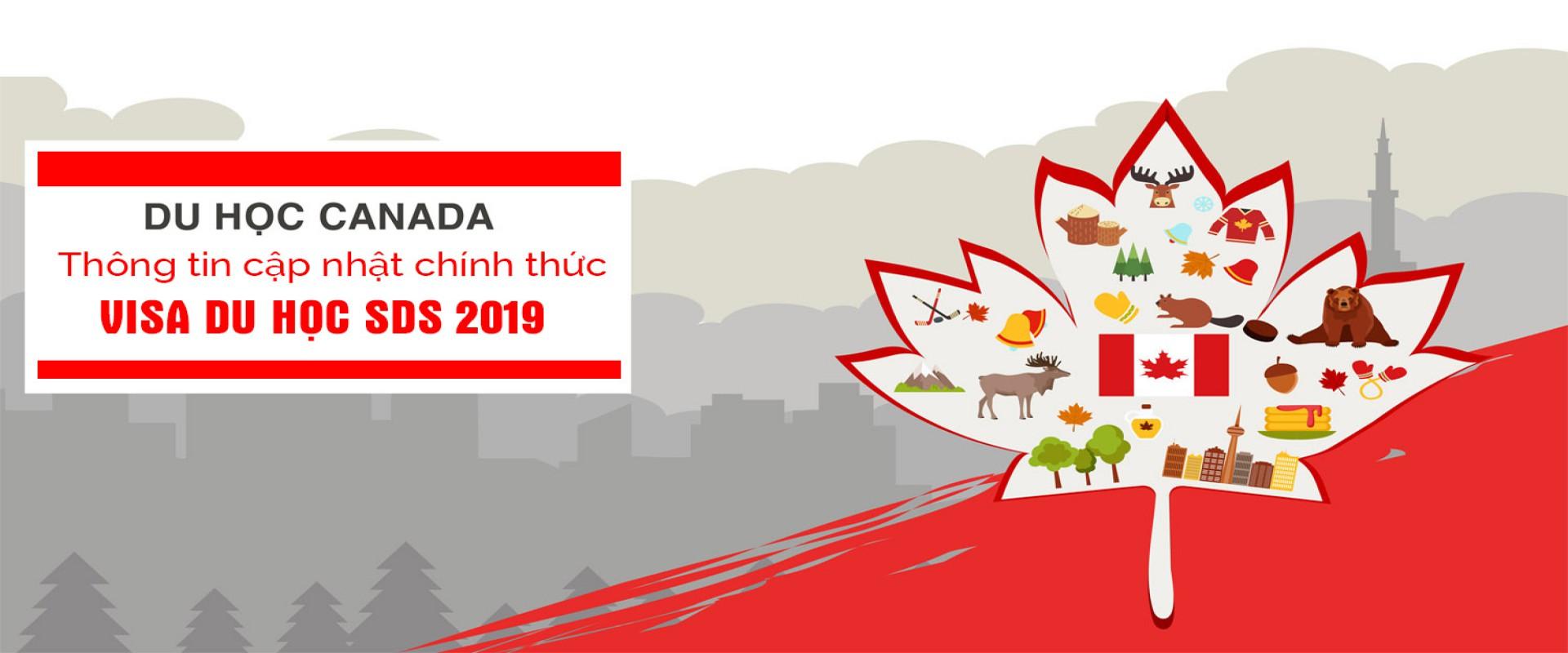 Cập nhật Visa SDS du học Canada