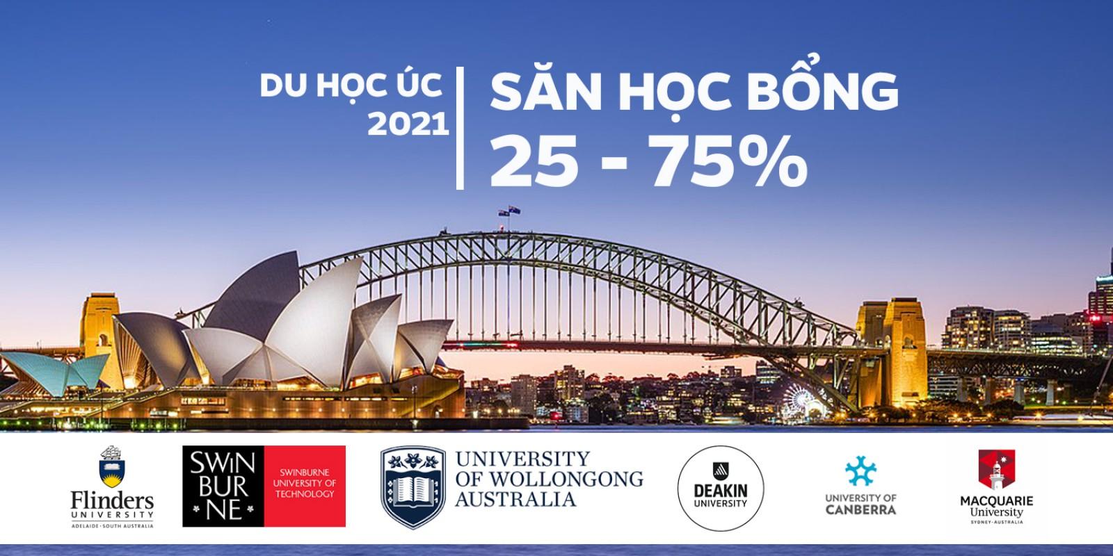Săn học bổng Úc sau Covid